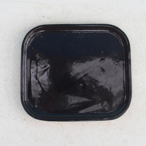 Bonsai podmiska H 36, čierna