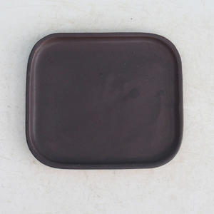 Bonsai podmiska H 37, čierna matná