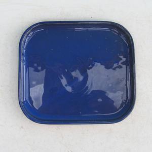 Bonsai podmiska H 37, modrá