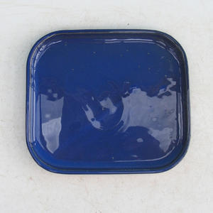 Bonsai podmiska H 38, modrá
