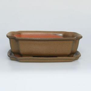 Bonsai miska + podmiska H17