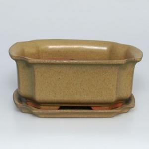 Bonsai miska + podmiska H01