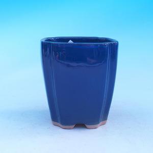 Keramická misa bonsai - kaskáda, modrá