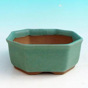 Bonsai miska H 13, zelená