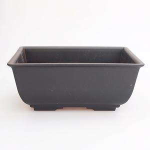 Bonsai miska plast MP-1, čierna