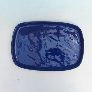 Bonsai podmiska H10, modrá