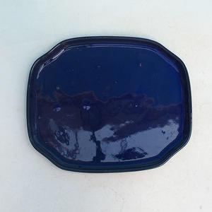 Bonsai podmiska H 31, modrá