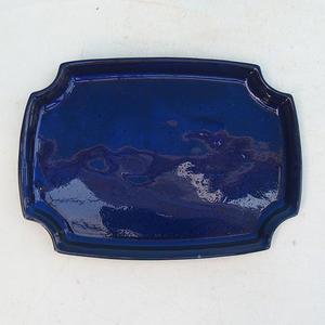 Bonsai podmiska H 03, modrá