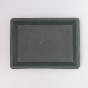 Bonsai podmiska plast PP-1 zelená, zelená