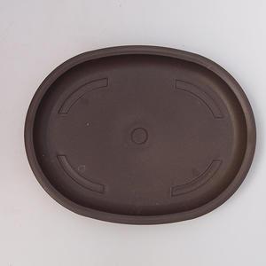 Bonsai podmiska plast PP-4 hnědá
