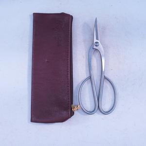 Nůžky  šíkmé dlouhé 200 mm - Nerez + pouzdro ZDARMA