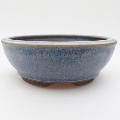 Keramická bonsai miska 16 x 16 x 5,5 cm, barva modrá - 1