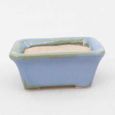 Mini bonsai miska 6 x 4,5 x 2,5 cm, farba modrá - 1