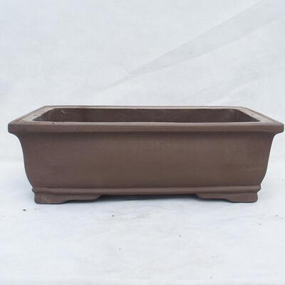 Bonsai miska 46 x 25 x 15 cm, farba režná - 1