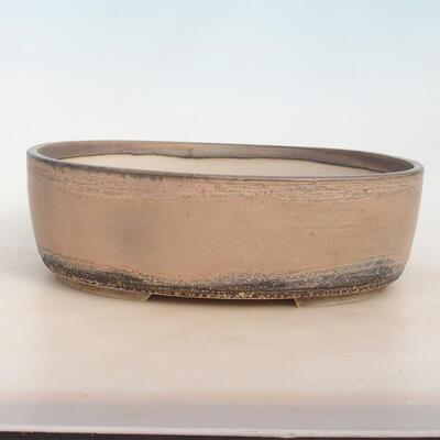 Bonsai miska 31 x 24 x 10 cm, barva šedobéžová - 1