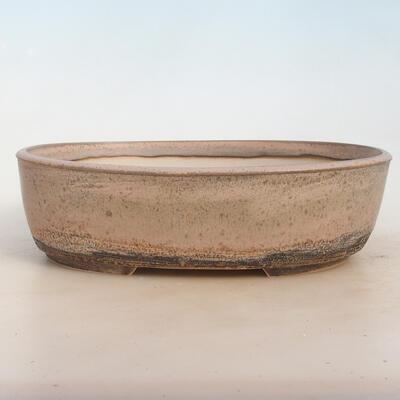 Bonsai miska 29 x 23 x 8,5 cm, barva šedobéžová - 1