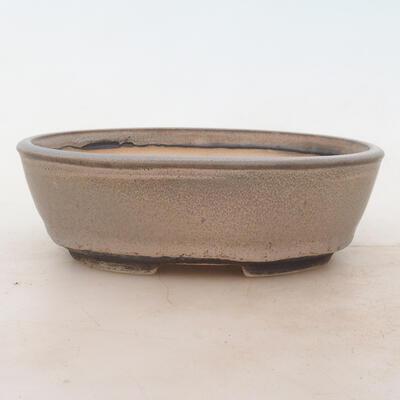 Bonsai miska 18 x 13 x 6 cm, barva šedá - 1