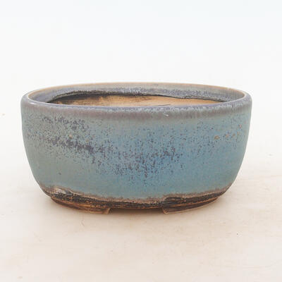 Bonsai miska 19 x 14 x 9 cm, barva modrá - 1