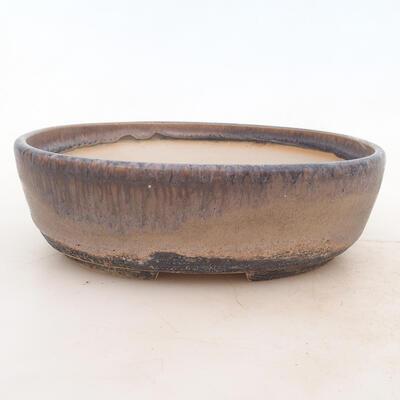 Bonsai miska 20 x 15 x 6 cm, barva šedá - 1