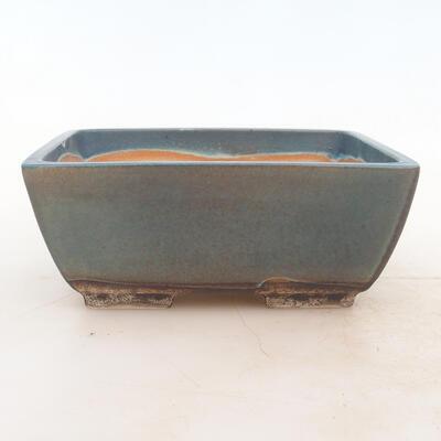 Bonsai miska 17 x 13 x 7 cm, barva modrá - 1