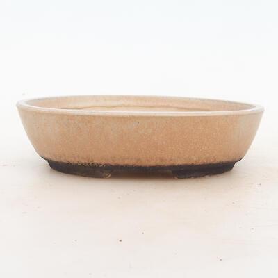 Bonsai miska 18 x 13 x 5 cm, barva béžová - 1