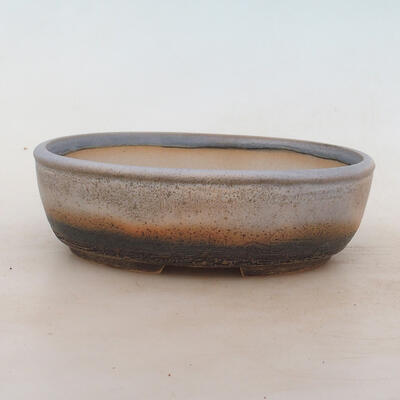 Bonsai miska 20 x 15,5 x 6 cm, barva šedá - 1