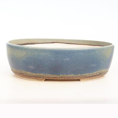 Bonsai miska 34 x 27 x 10,5 cm, barva modrozelená - 1