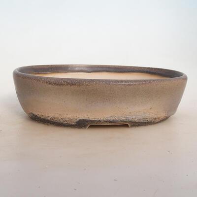 Bonsai miska 25 x 19 x 6,5 cm, barva šedobéžová - 1
