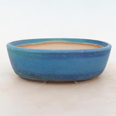 Bonsai miska 22 x 17 x 7 cm, barva modrá - 1