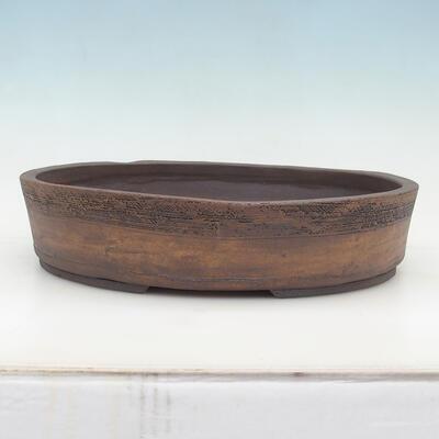 Bonsai miska 20 x 15 x 6 cm, barva šedobéžová - 1