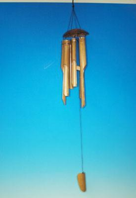 Bambusová zvonkohra světlá 90 cm