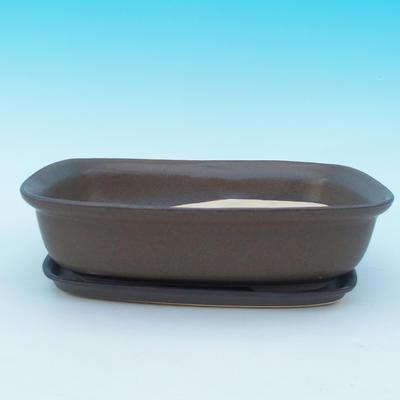 Bonsai miska + podmiska H10 - 1