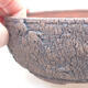 Keramická bonsai miska 15 x 15 x 6 cm, farba praskanie - 2/3