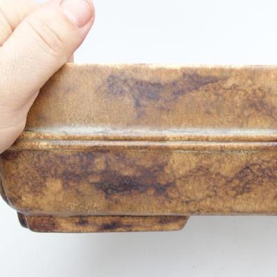 Keramická bonsai miska 2.jakost  - páleno v plynové peci 1240 °C - 2