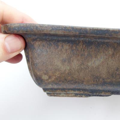Keramická bonsai miska 2,jakost - páleno v plynové peci 1240 °C - 2