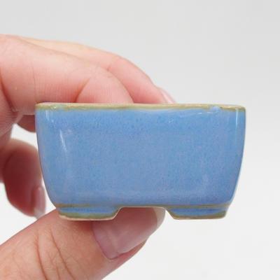 Mini bonsai miska 4,5 x 3 x 2,5 cm, farba modrá - 2