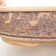 Keramická bonsai miska 21 x 21 x 6 cm, barva hnědá - 2/3