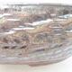 Keramická bonsai miska 36 x 36 x 9,5 cm, barva kovová - 2/3