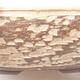 Keramická bonsai miska 37,5 x 37,5 x 9,5 cm, barva béžová - 2/3