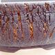 Keramická bonsai miska 18 x 18 x 6 cm, barva praskaná - 2/3