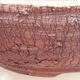 Keramická bonsai miska 19,5 x 19,5 x 6 cm, barva praskaná - 2/3