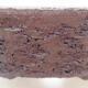 Keramická bonsai miska 20,5 x 20,5 x 5,5 cm, barva režná - 2/3