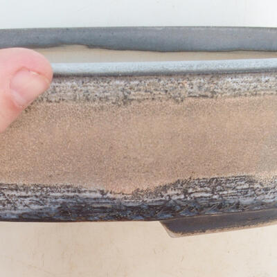 Bonsai miska 33 x 25 x 7,5 cm, barva šedobéžová - 2