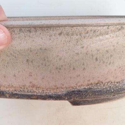 Bonsai miska 29 x 23 x 8,5 cm, barva šedobéžová - 2