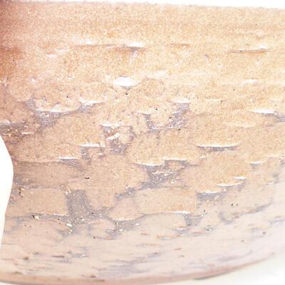 Keramická bonsai miska 40 x 40 x 12 cm, barva hnědá - 2