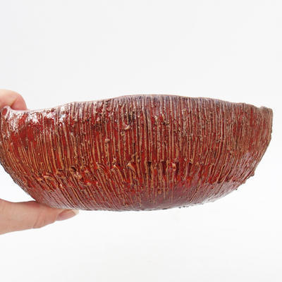 Keramická bonsai miska - 2.jakost mírná deformace - 2
