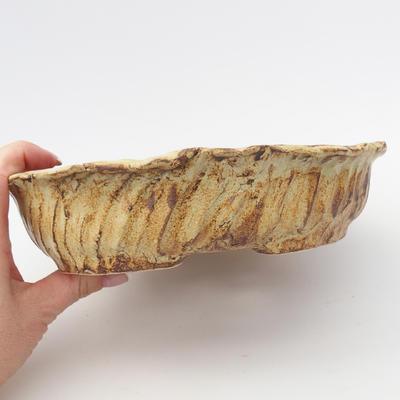 Keramická bonsai miska  - páleno v plynové peci 1240 °C - 2