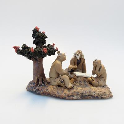 Keramická figurka - Bonsajista - 2
