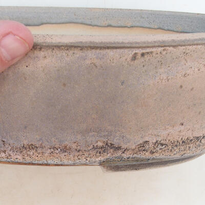 Bonsai miska 32 x 24 x 8,5 cm, barva šedobéžová - 2