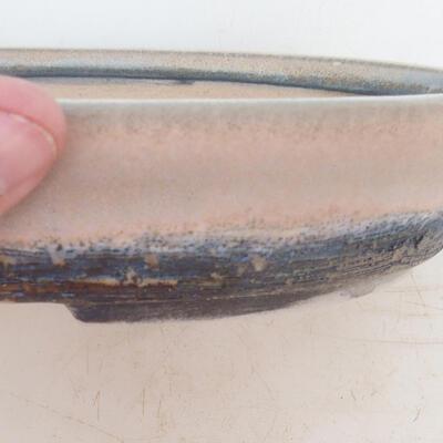 Bonsai miska 23 x 18 x 4 cm, barva šedobéžová - 2